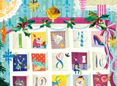 新宿Flags 2015 クリスマス広告 メインビジュアル